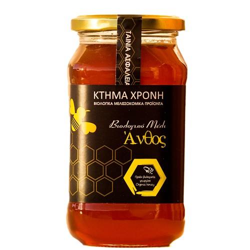 Βιολογικό Μέλι Άνθος 630 γραμμαρίων