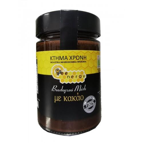 Βιολογικό Μέλι bee choco (μέλι με κακάο) 400 γραμμαρίων ΠΡΟΙΟΝΤΑ Honey bee choco